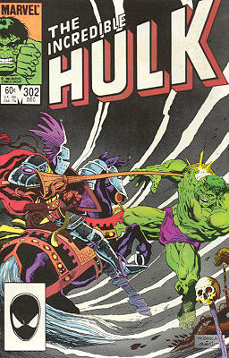 The Incredible Hulk 302 - Lady of Life - City of Death!