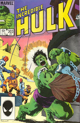 The Incredible Hulk 303 - Growing Up Is Hard To Do!