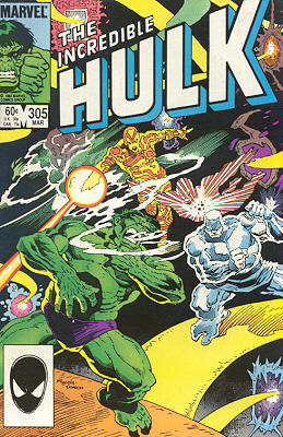 The Incredible Hulk 305 - Fancy Meeting You Here!
