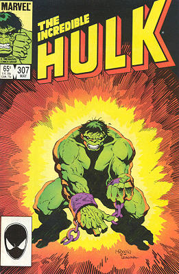 The Incredible Hulk 307 - ...The Hunt Across Worlds!