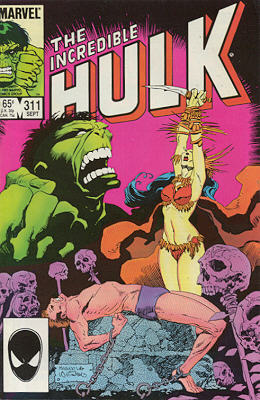 The Incredible Hulk 311 - Life is a Four-Letter Word!