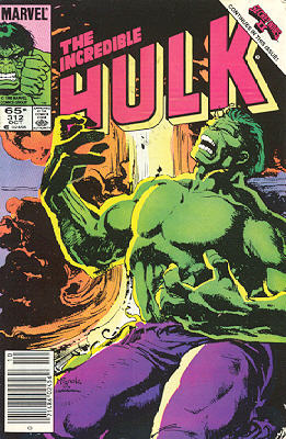 The Incredible Hulk 312 - Monster