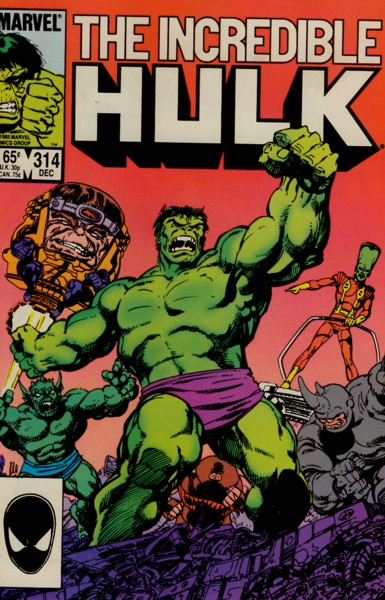 The Incredible Hulk 314 - Call of the Desert