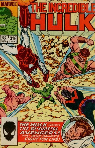 The Incredible Hulk 316 - Battleground