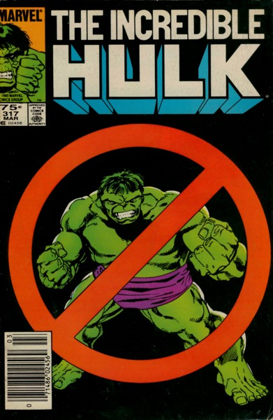 The Incredible Hulk 317 - You're Probably Wondering Why I Called You Here Today