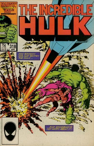The Incredible Hulk 318 - Baptism of Fire