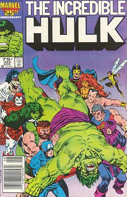 The Incredible Hulk 322 - Must the Hulk Die!