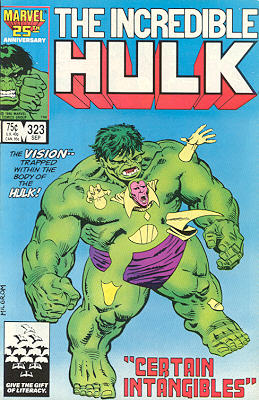 The Incredible Hulk 323 - Certain Intangibles