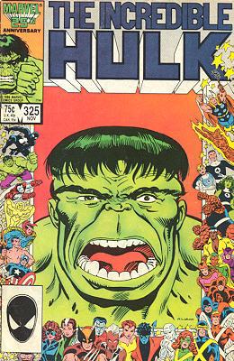 The Incredible Hulk 325 - The New Hulk!