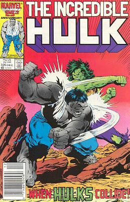 The Incredible Hulk 326 - Desert Heat