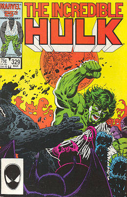 The Incredible Hulk 329 - Outcasts!