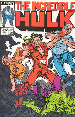 The Incredible Hulk 330 - Head Games!! (An Old Soldier Dies!)