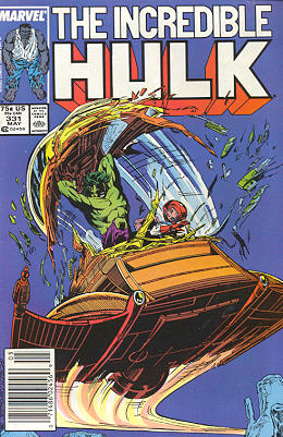 The Incredible Hulk 331 - Inconstant Moon