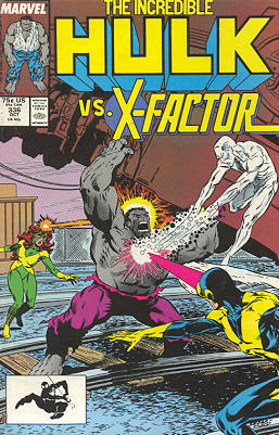The Incredible Hulk 336 - X-Tremes!