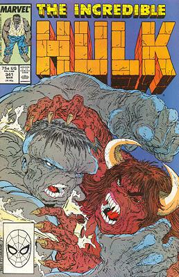 The Incredible Hulk 341 - The Savage Bull Doth Bear the Yoke!