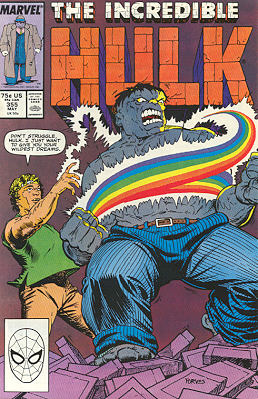 The Incredible Hulk 355 - Now You See It...
