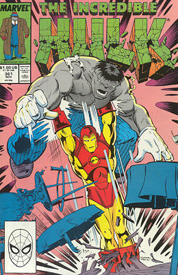 The Incredible Hulk 361 - Iron Tears