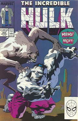 The Incredible Hulk 362 - Phasing Out