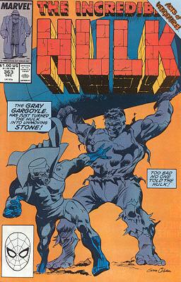 The Incredible Hulk 363 - Still Life