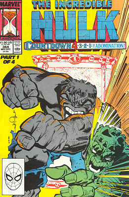 The Incredible Hulk 364 - Countdown Abomination