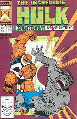The Incredible Hulk 365 - Countdown Fantastic 4