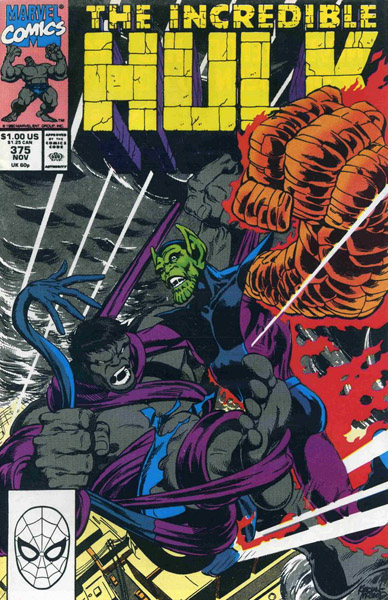 The Incredible Hulk 375 - Night of the Living Skrulls