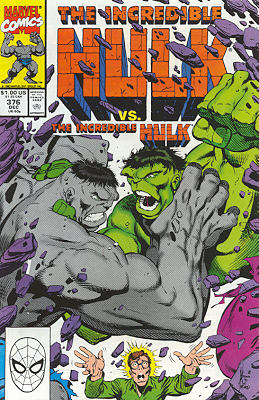 The Incredible Hulk 376 - Personality Conflict
