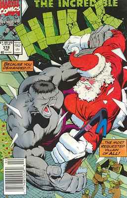 The Incredible Hulk 378 - Rhino Plastered
