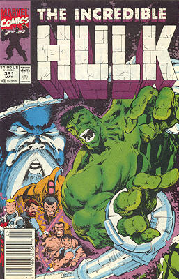 The Incredible Hulk 381 - Exposition