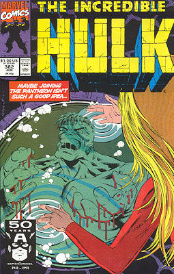 The Incredible Hulk 382 - Moving On