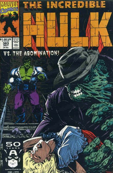The Incredible Hulk 383 - Green Canard
