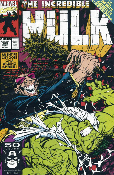 The Incredible Hulk 385 - Dark Dominion