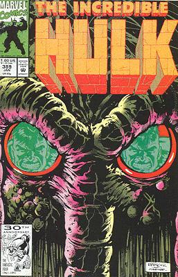 The Incredible Hulk 389 - Of Man and Man-Thing