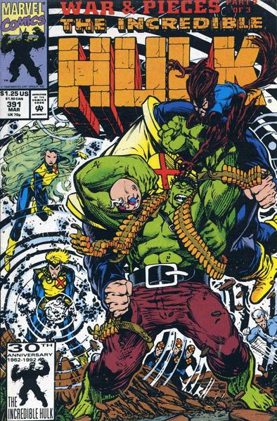 The Incredible Hulk 391 - X-Calation