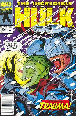 The Incredible Hulk 394 - Cold Storage