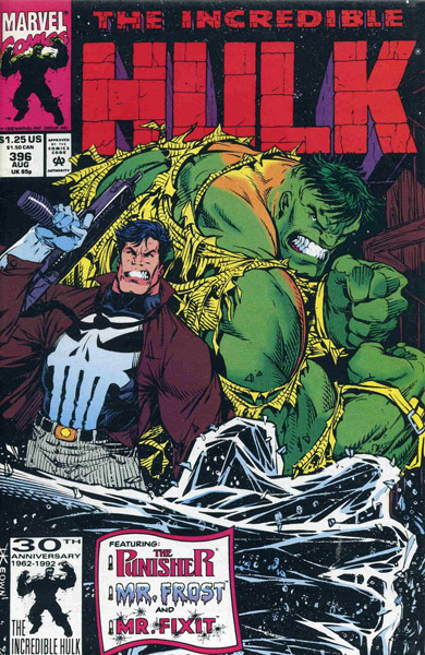 The Incredible Hulk 396 - Frost Bite