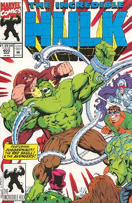 The Incredible Hulk 403 - In Memory Yet Green