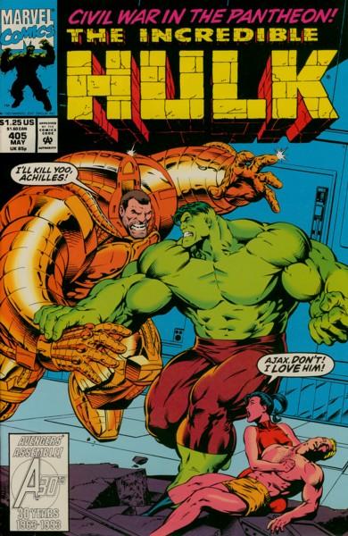 The Incredible Hulk 405 - Downtime