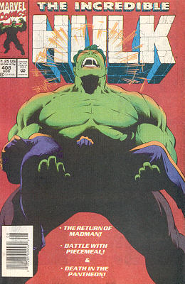 The Incredible Hulk 408 - A Sinking Feeling