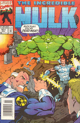 The Incredible Hulk 411 - Liberation Day