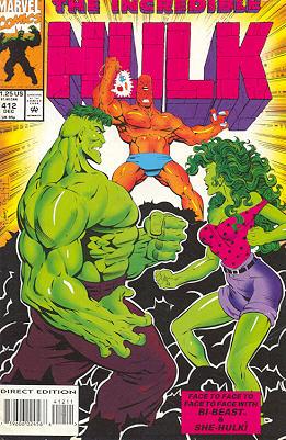 The Incredible Hulk 412 - Bi Me That