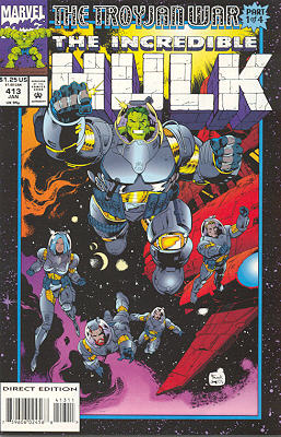 The Incredible Hulk 413 - Illegal Aliens