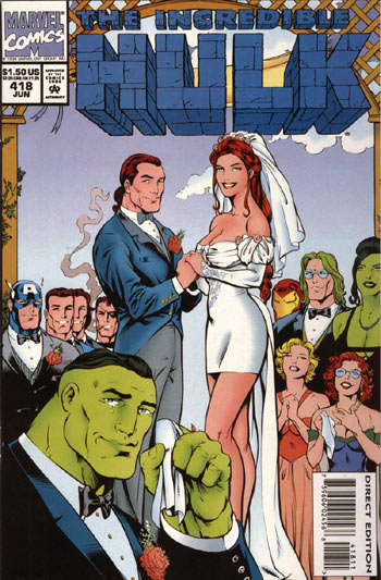 The Incredible Hulk 418 - We Are Gathered Here