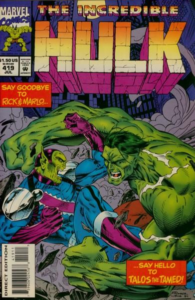 The Incredible Hulk 419 - The Last Waltz