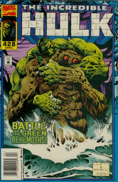 The Incredible Hulk 428 - Swamped