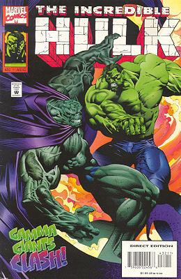 The Incredible Hulk 432 - Shades of Green