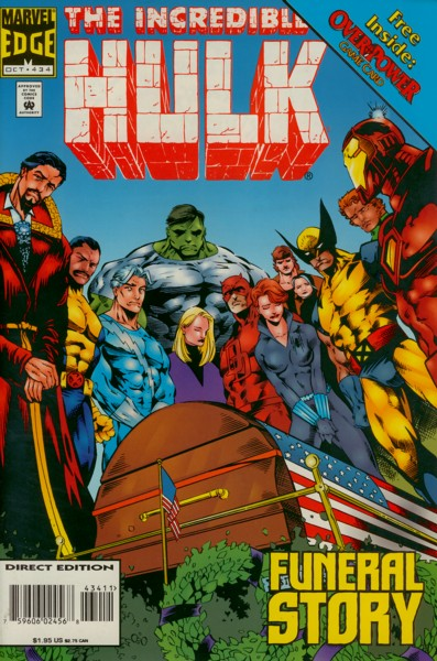 The Incredible Hulk 434 - Funeral Story