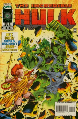 The Incredible Hulk 443 - Then And Now