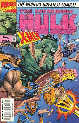 The Incredible Hulk 455 - Waiting to X-hale