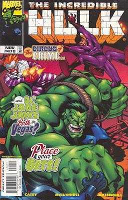The Incredible Hulk 470 - Circus People